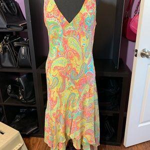 Vintage Ralph Lauren Dress—size 12